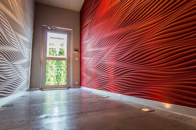 Luksusowe panele ścienne 3D MDF, do malowania, bez widocznych łączeń.