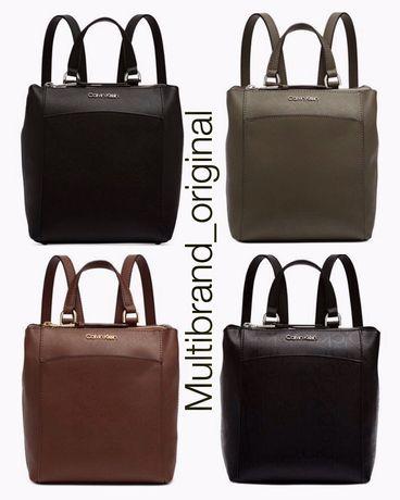 Кожаный рюкзак Calvin Klein USA сумка кросс боди Келвин Кляйн Michael