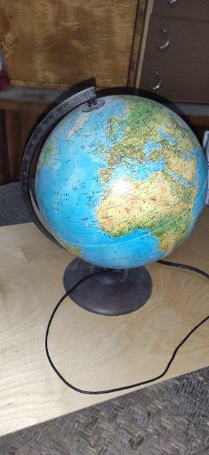 Globus podświetlany, lampa nocna