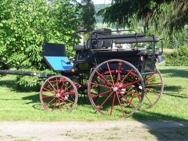 Bryczka wagonetka wagonette