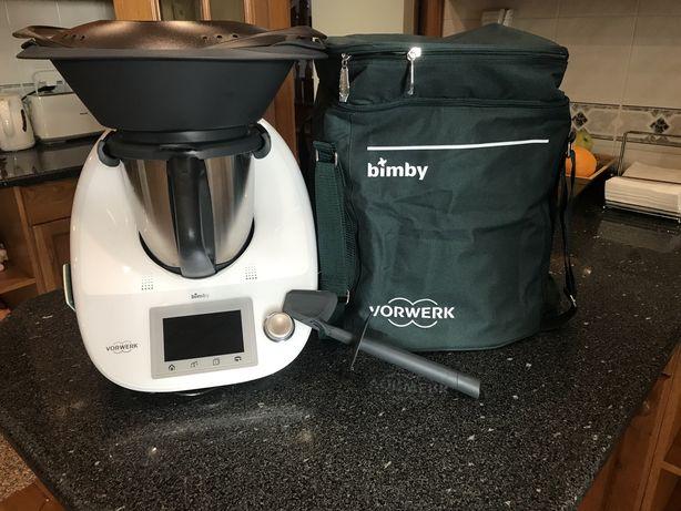 Bimby TM5 Vorwerk com todos os acessórios + mochila de transporte