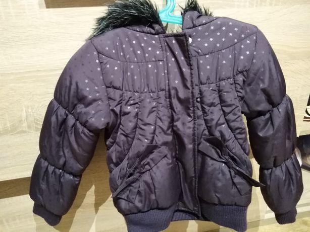 kurtka zimowa rozmiar 110 - 116