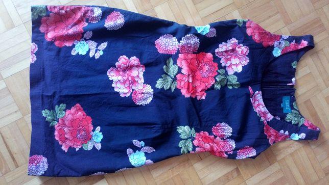 Sukienka Simple , rozm 36, kwiaty