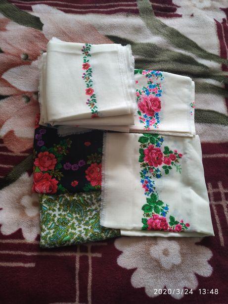 Продам шерстяні платки нові