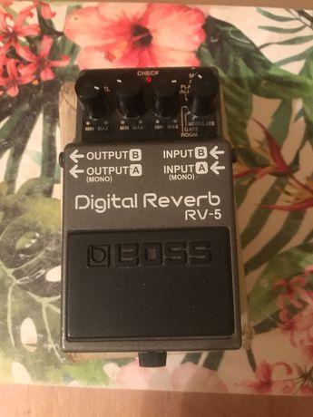 Boss RV-5 Digital Delay Roland kostka efekt