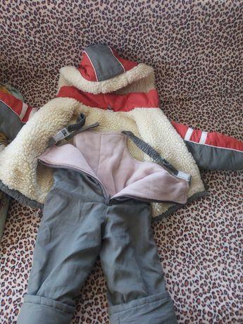 Зимний комбензон для мальчика.