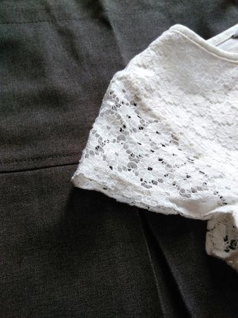 Блузка юбка школьная форма