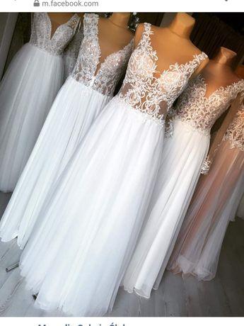 Suknia ślubna kolekcji Diana 2019r.