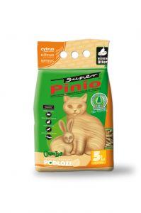 35L - drewniany podkład dla zwierząt - Super Benek Pinio - cytrusowy