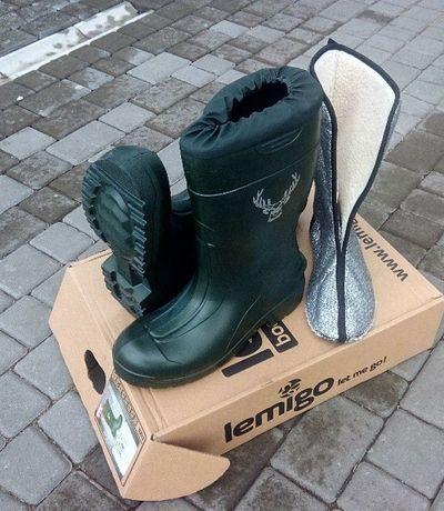 Сапоги (Взуття) Lemigo Hubertus 898 для Рыбалки,Охоты (-50 град)