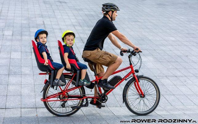 Rower Cargo PRODUKT POLSKI jak przyczepka do przewozu 2 dzieci