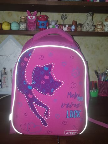 Рюкзак каркасный Kite для девочки
