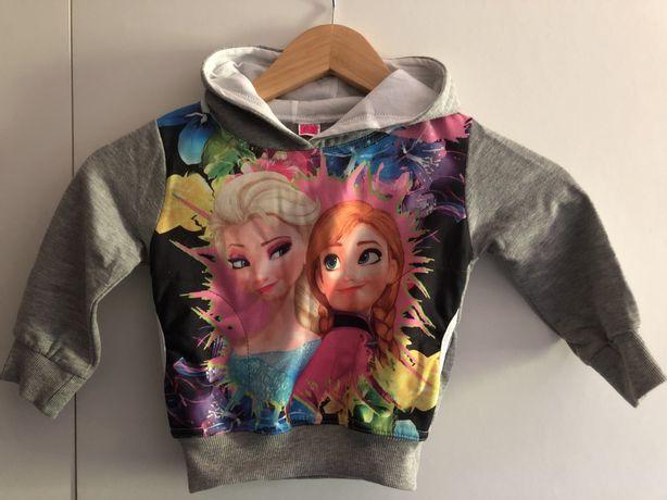 Camisola de Menina Frozen e Elsa Nova ULTIMA UNIDADE