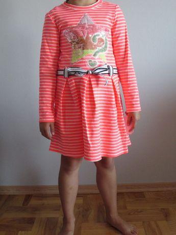 Nowa włoska dziewczęca sukienka