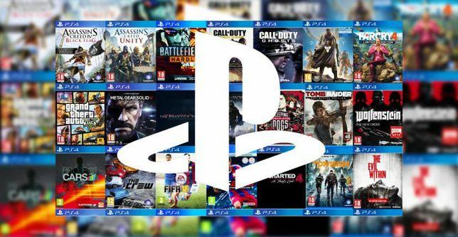 Аккаунты Playstation 4