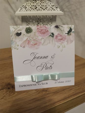 Zaproszenie na ślub