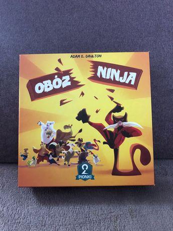 Gra karciana Obóz Ninja