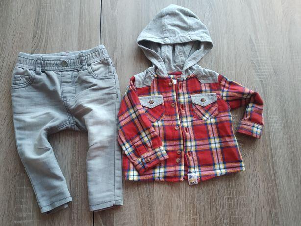 Комплект джинсы и рубашка на мальчика