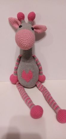 Żyrafka, handmade