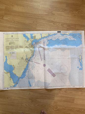 Навигационная карта British Admirality Nautical Chart 2212