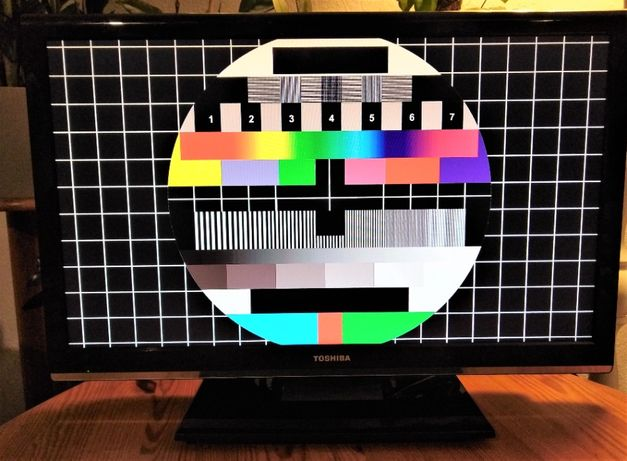 """TV Toshiba 23"""" wbudowany tuner DVB-T, głośniki"""