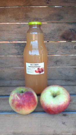 Sok z ekologicznych jabłek