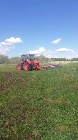 Usługi rolnicze koszenie łąk uprawa bezorkowa