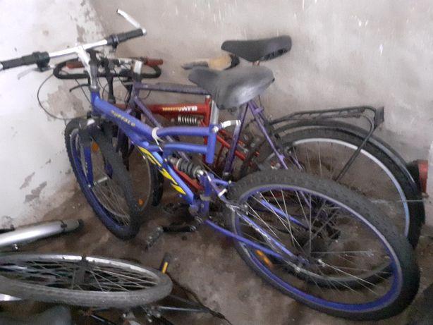 Rower niebieski.