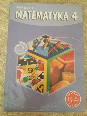 Matematyka 4, podręcznik dla szkoły podstawowej, GWO