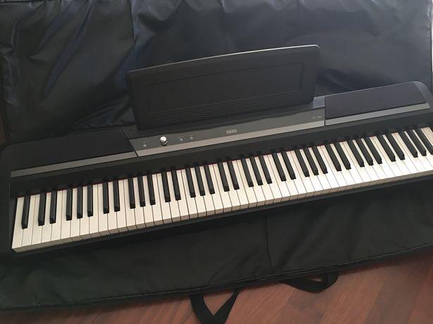 Piano Digital Korg SP 170S e saco de transporte