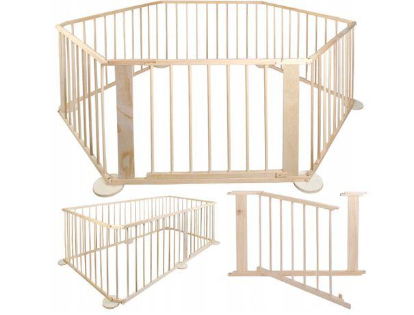 Kojec Drewniany Wielowariantowy 6 Paneli Zagroda