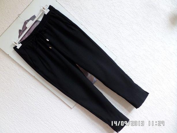 H&M spodnie paperbag wysoki stan wiązane