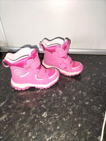 Buty zimowe/śniegowce 28 dla dziewczynki