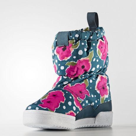 Сапоги детские-подростковые Adidas Slip On Boot S76118 (ОРИГИНАЛ).