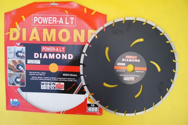 Tarcza diamentowa - SEGMENT 400mm PROMOCJA