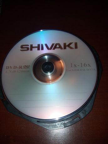 Płyty DVD-R 4.7 GB Shivaki 9 szt.