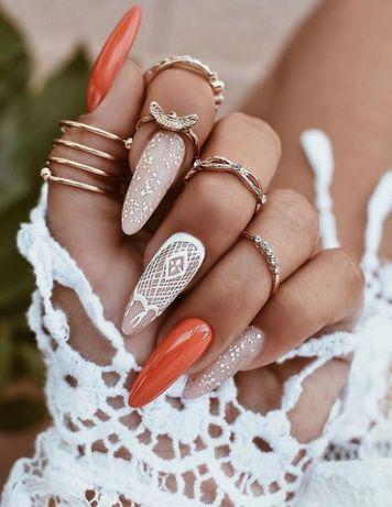 Маникюр Житомир, укрепление, наращивание ногтей и ресниц, косметология