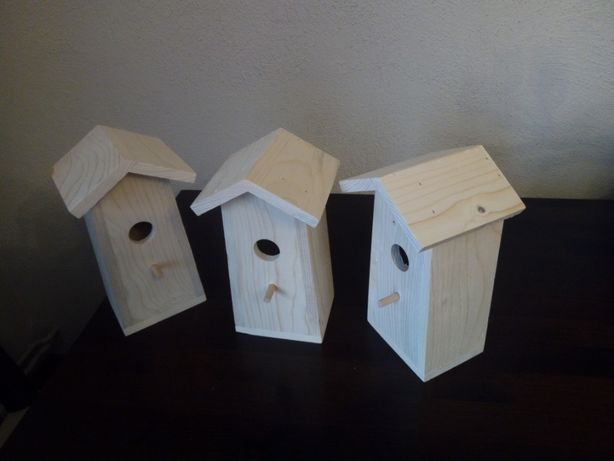 Budki lęgowe, budki dla ptaków, do ogrodu, na balkon