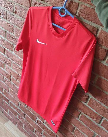 Koszulka Nike Sportowa Czerwona