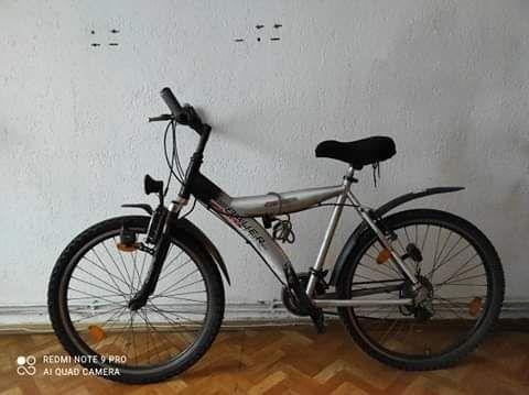 Sprzedam srebrny rower koła 26