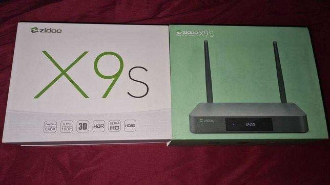 4K UHD Media player Zidoo X9S z obsługą MENU plików Blu-ray.ISO i DVD!