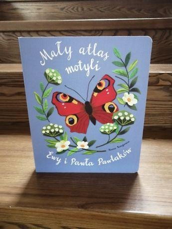 Książka Mały atlas motyli - Ewy i Pawła Pawlaków