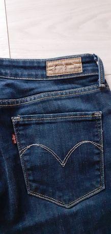 Levis spodnie jeansy rurki 29/32