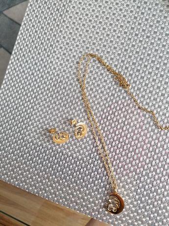 Zestaw biżuteri styl Tous