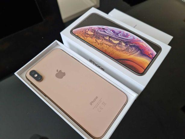 iPhone Xs 64 GB w kolorze gold Stan Idealny