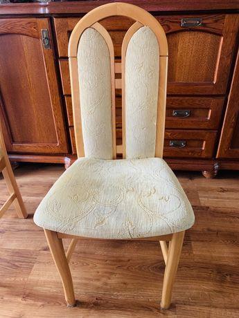 Krzesła 4 sztuki Drewniane 180zł komplet