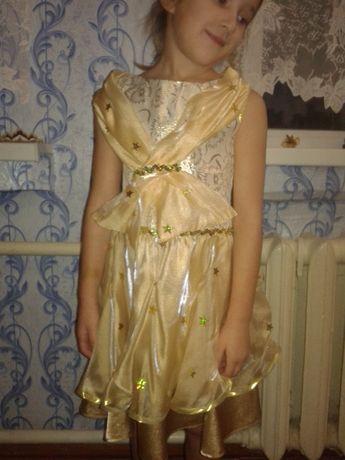 Нарядное платье для девочки р. 110-116-122