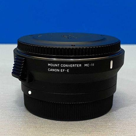 Adaptador Sigma MC-11 (Canon EF - Sony E)