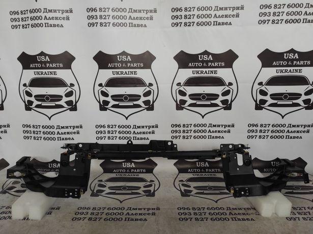 Панель Ford Fusion 2017+ Бампер решетка Фары Mondeo панель верх