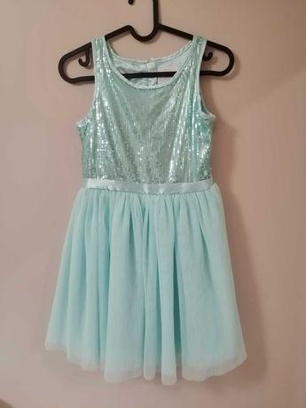 Sukienka balowa urodzinowa z cekinami 134